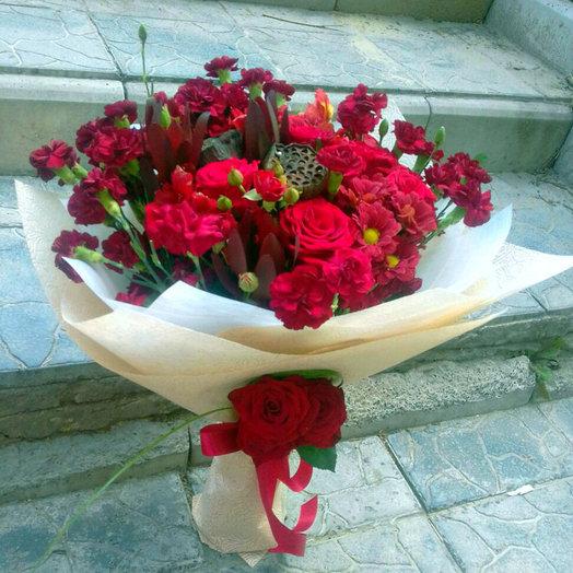 Сердце граната: букеты цветов на заказ Flowwow