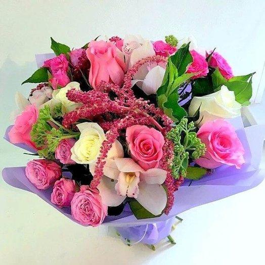 """Букет """"Красотка"""": букеты цветов на заказ Flowwow"""