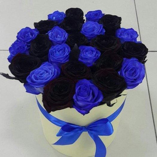 Крашенный МИКС: букеты цветов на заказ Flowwow