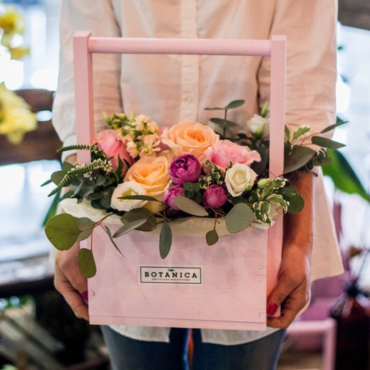 Встреча в Париже : букеты цветов на заказ Flowwow