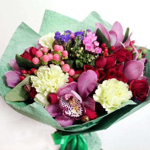 """Букет """"Амстердам"""": букеты цветов на заказ Flowwow"""