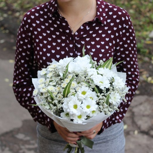 """Букет """"Белый"""": букеты цветов на заказ Flowwow"""