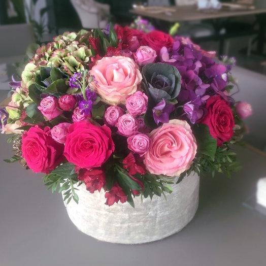 Коробка 123: букеты цветов на заказ Flowwow