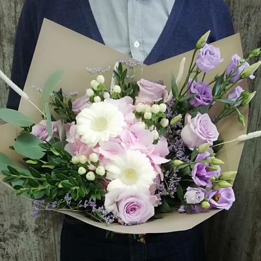 Лунный крем: букеты цветов на заказ Flowwow