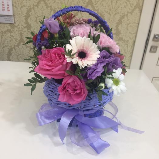 Корзинка настроения: букеты цветов на заказ Flowwow
