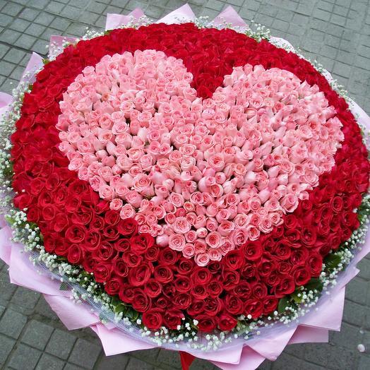 Безумная любовь: букеты цветов на заказ Flowwow