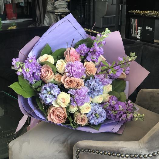 Лавандовый аромат: букеты цветов на заказ Flowwow