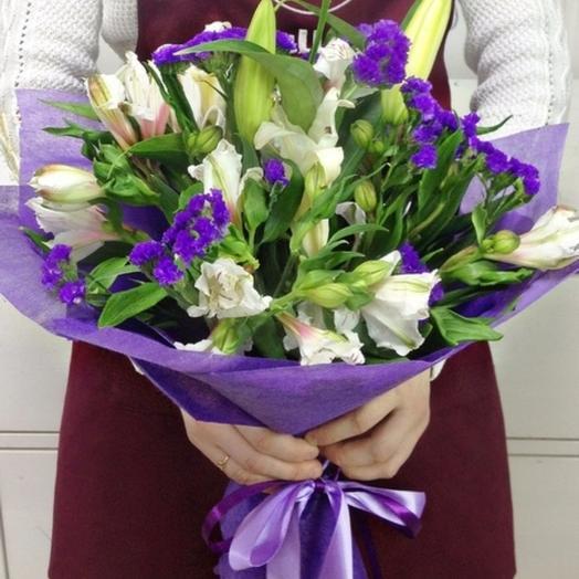 """Букет """"Синеглазка"""": букеты цветов на заказ Flowwow"""