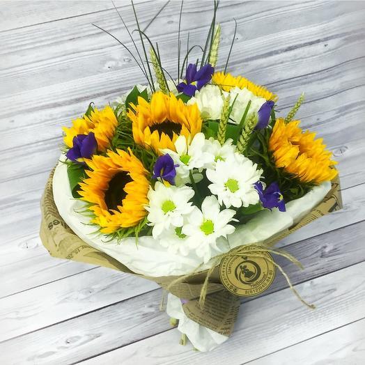 Август: букеты цветов на заказ Flowwow