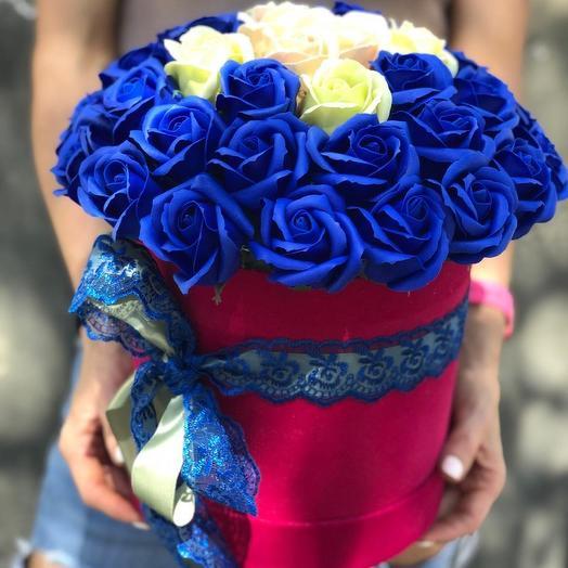 Мыльные розы: букеты цветов на заказ Flowwow