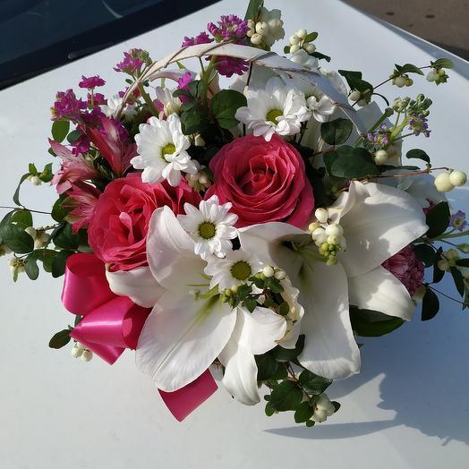 """Корзинка """"Ты моя нежность"""": букеты цветов на заказ Flowwow"""