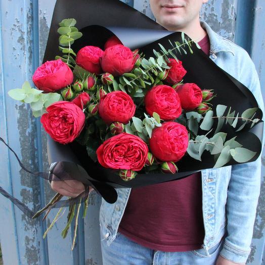 Total black: букеты цветов на заказ Flowwow