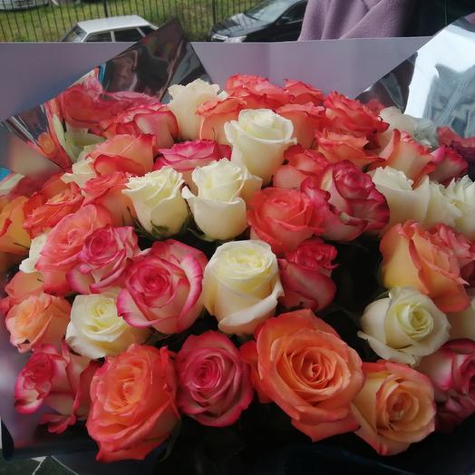 51 роза🌹🌹🌹: букеты цветов на заказ Flowwow