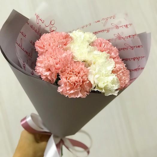Микс Диантусов: букеты цветов на заказ Flowwow