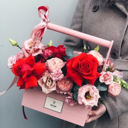 Ящичек 099: букеты цветов на заказ Flowwow