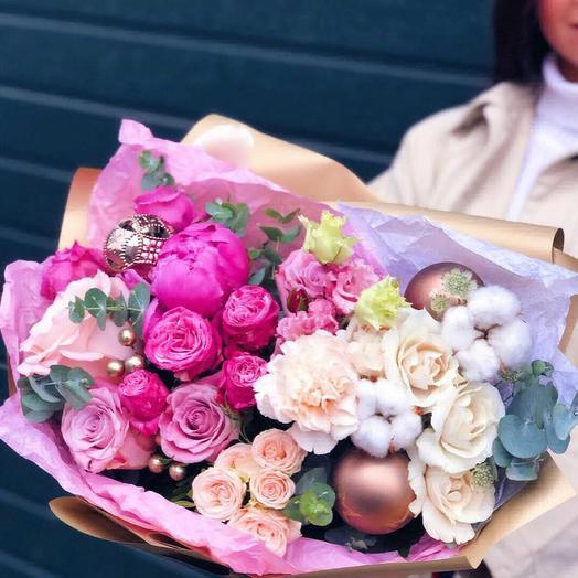 Снежные пузырыки: букеты цветов на заказ Flowwow