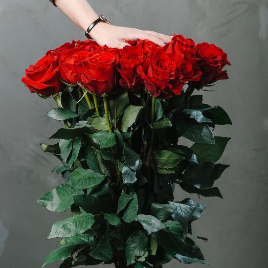 Букет из 25 роз сорт Explorer: букеты цветов на заказ Flowwow