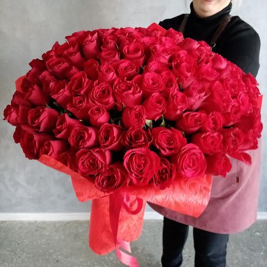 Любимой 101 красная