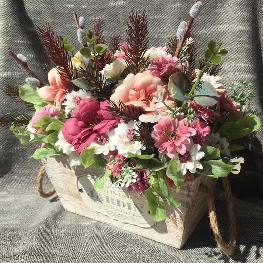 Композиция Луиза: букеты цветов на заказ Flowwow