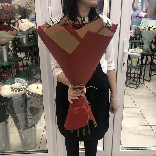 Букет 15 Ред: букеты цветов на заказ Flowwow