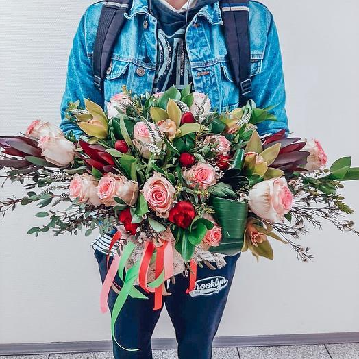 Мисс оригинальность 💥: букеты цветов на заказ Flowwow