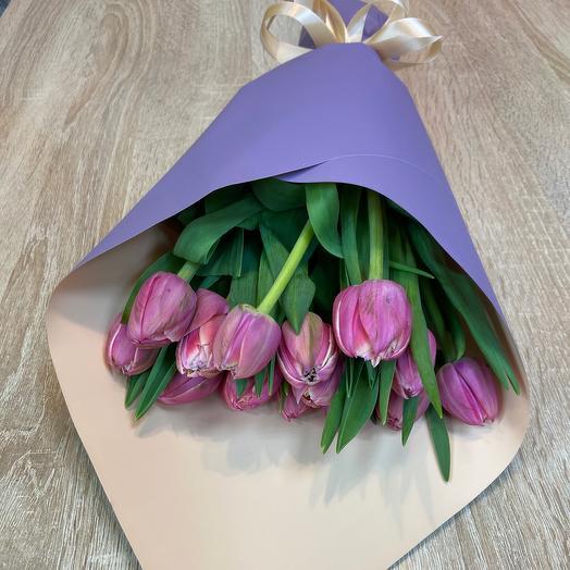 Тюльпан коламбус: букеты цветов на заказ Flowwow