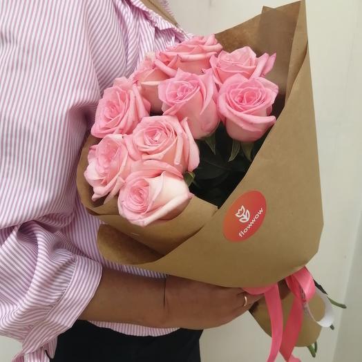 Roses in Kraft