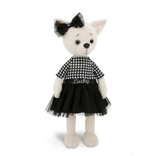 Мягкая игрушка Собачка Lucky в стиле Coco Chanel