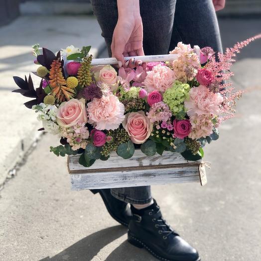 Цветы в ящике 3