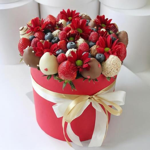 Strawberry box 1