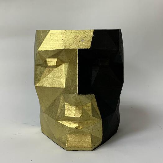 Кашпо Чёрное золото