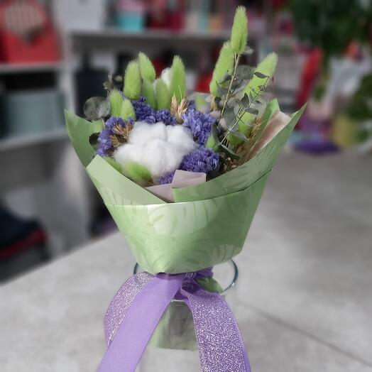 Букетик из сухоцветов