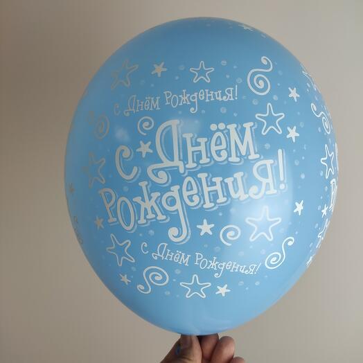 Воздушный шар , ассорти  /Шелкография пастель