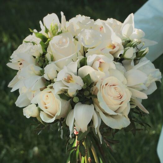 Свадебный букет «С первого взгляда»