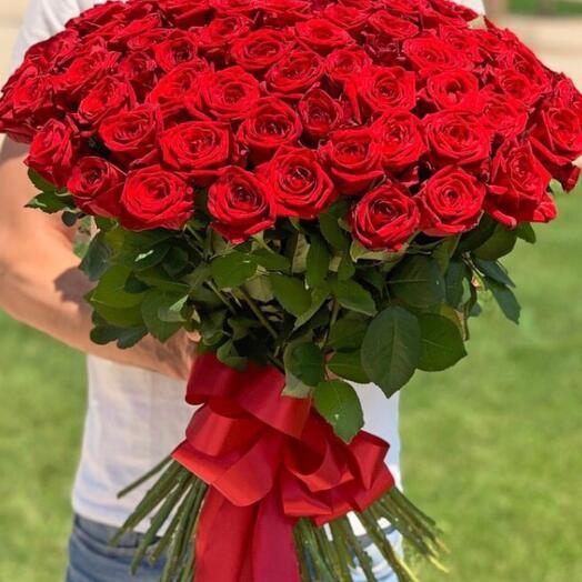 101 Роза супер цена