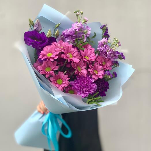 """Bouquet with taste"" XS blue"