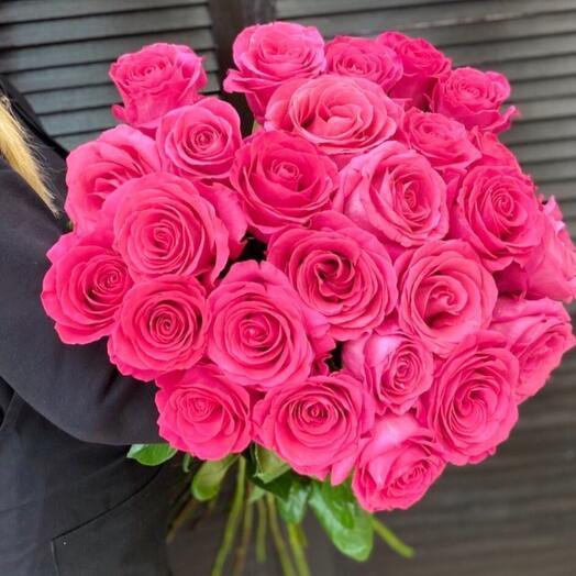 25 роз Пинк Флойд 70см
