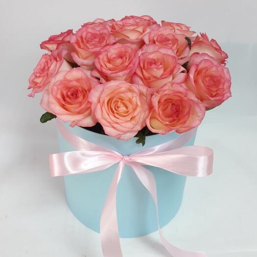 Коробочка 15 роз