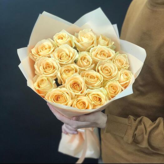 Букет из красивых жёлтых Роз