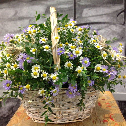 Корзинка 142: букеты цветов на заказ Flowwow