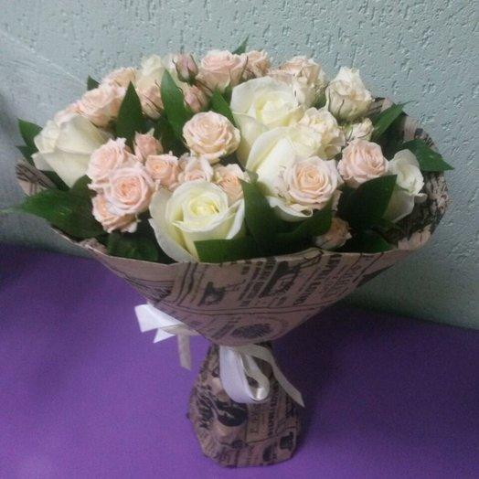 Букет  Вьюга: букеты цветов на заказ Flowwow