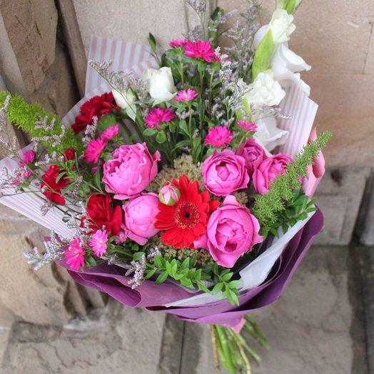 Букет Розовый: букеты цветов на заказ Flowwow
