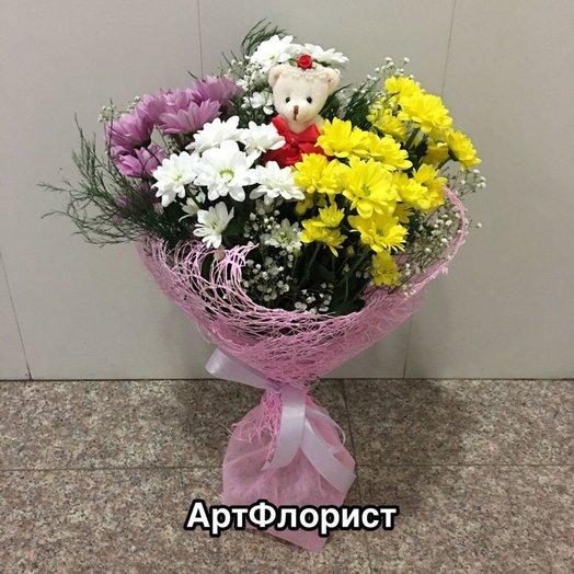 Букет  Моей маленькийке: букеты цветов на заказ Flowwow