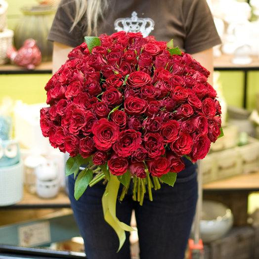 Букет из роз Опера Кармен: букеты цветов на заказ Flowwow