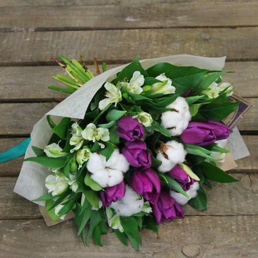 "Букет ""Очарованная весна"": букеты цветов на заказ Flowwow"