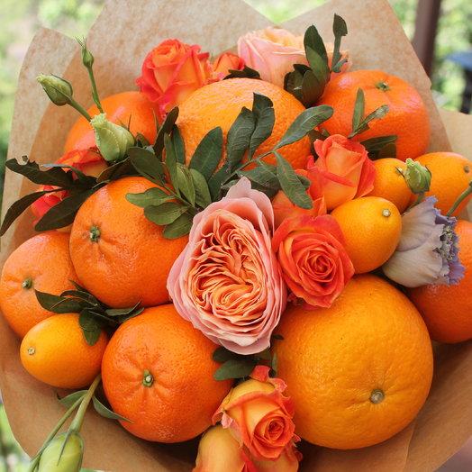 """Букет """"Самый рыжий!"""": букеты цветов на заказ Flowwow"""