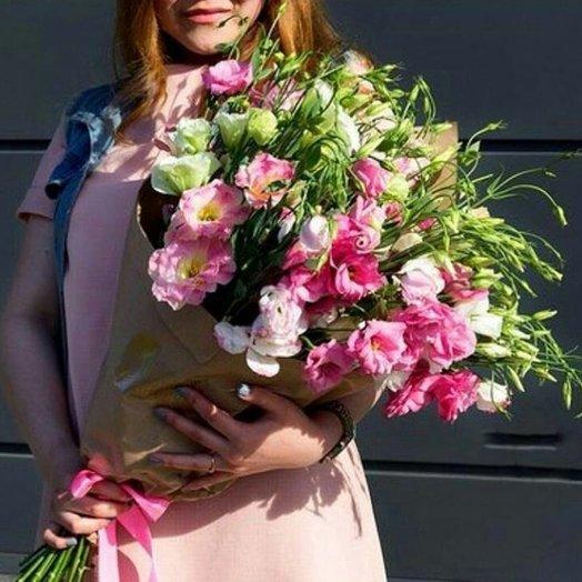 Микс лизиантусы: букеты цветов на заказ Flowwow
