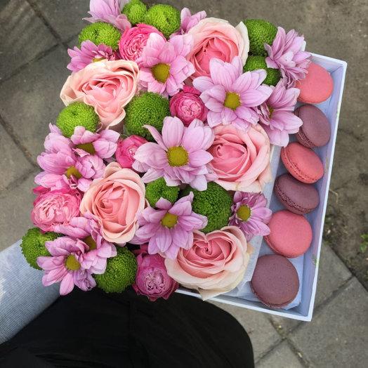Вкуснее нежного: букеты цветов на заказ Flowwow