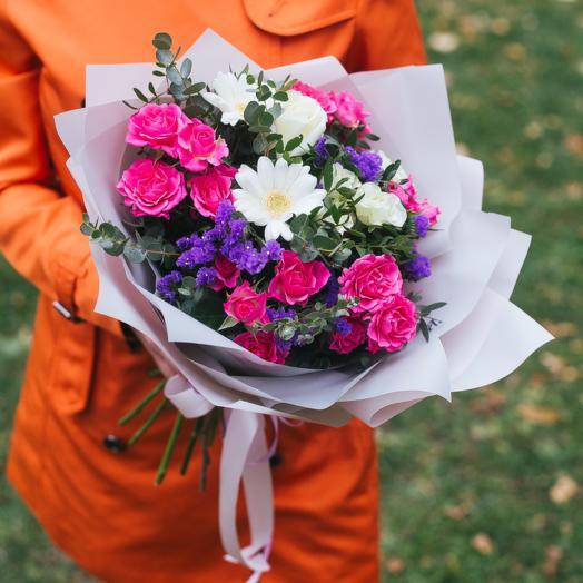Фламинго: букеты цветов на заказ Flowwow