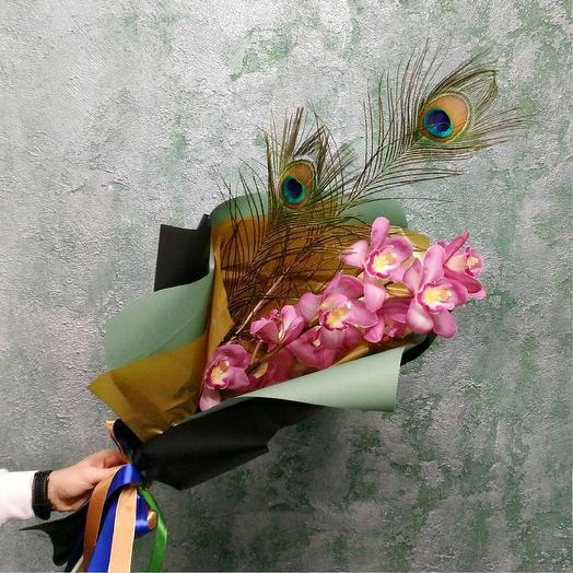 Веточка орхидеи: букеты цветов на заказ Flowwow